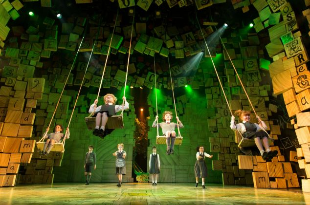 Royal Shakespeare Company's Matilda The Musical. Credit Manuel Harlan MAT 14.3-242