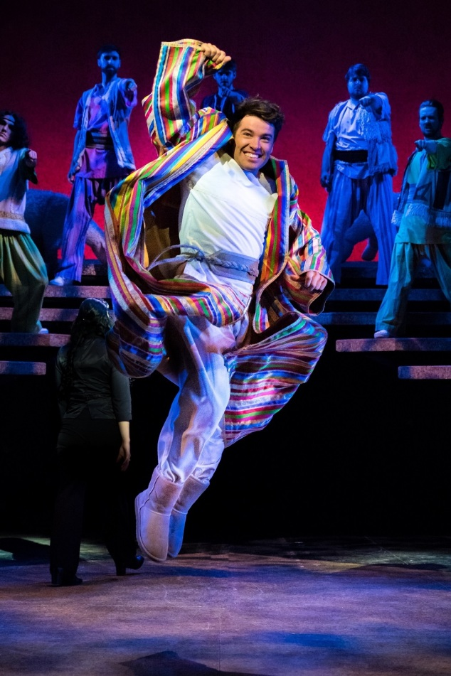 14)Joe McElderry in Joseph and the Amazing Technicolor Dreamcoat (c)Mark Yeo...