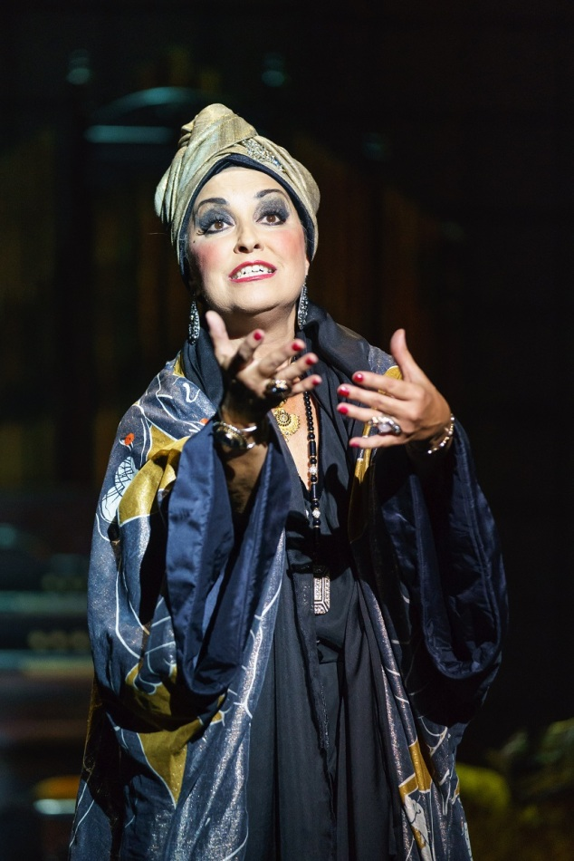 SUNSET BOULEVARD. Ria Jones 'Norma Desmond'. Photo Manuel Harlan SMALL