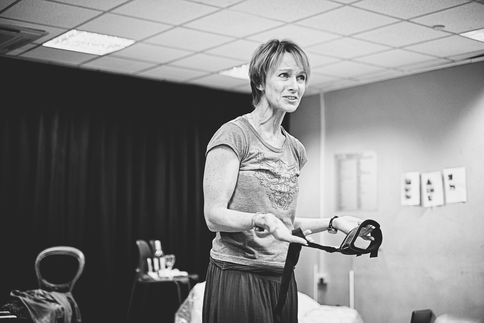 TB Johanne Murdock in rehearsals for The ToyBoy Diaries credit Claire Bilyard
