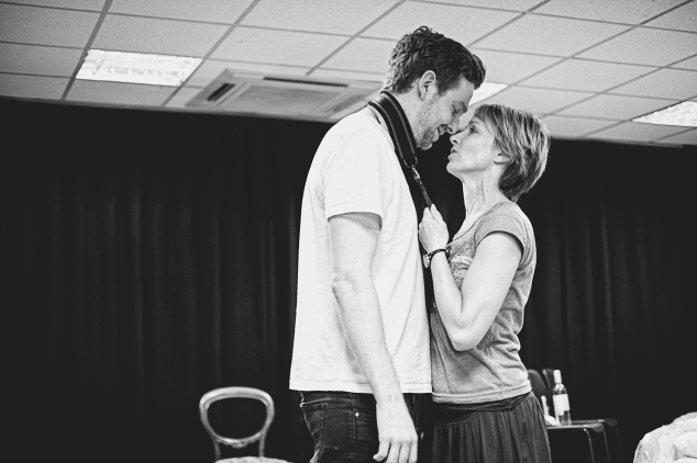 TB Matt Beveridge and Johanne Murdock in rehearsals for The ToyBoy Diaries 2 credit Claire Bilyard