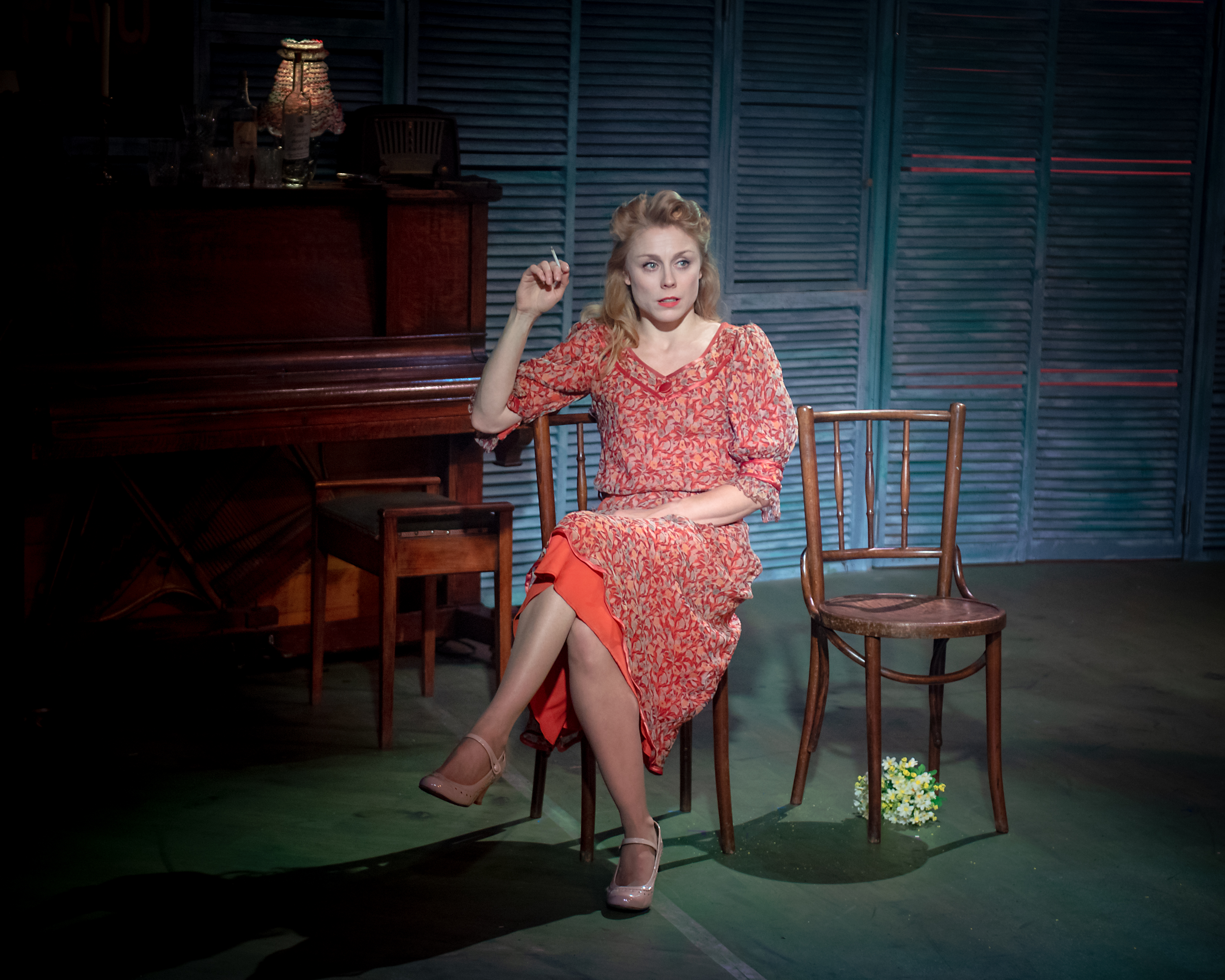 Kelly Price (Rose) in Aspects of Love at Hope Mill Theatre. Credit Anthony Robling