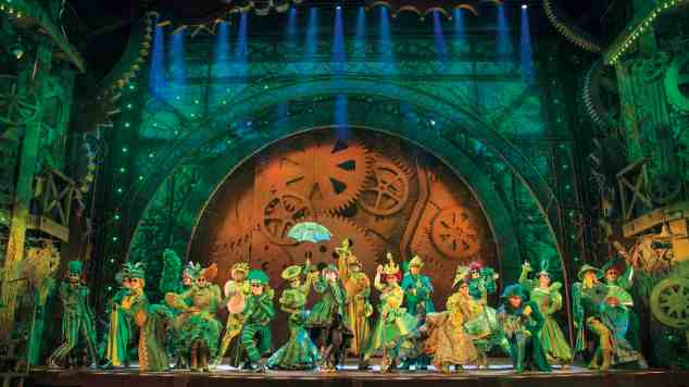 Wicked - The Emerald City. Photo credit Matt Crockett