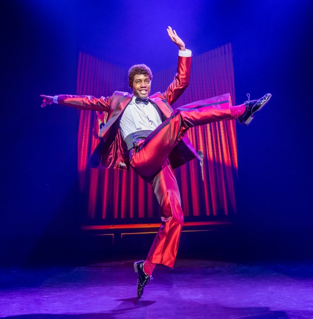 16. MOTOWN THE MUSICAL. Reece Richards 'Jackie Wilson'. Photo Tristram Kenton