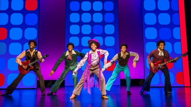 22. MOTOWN THE MUSICAL. The Jackson Five. Photo Tristram Kenton 2500