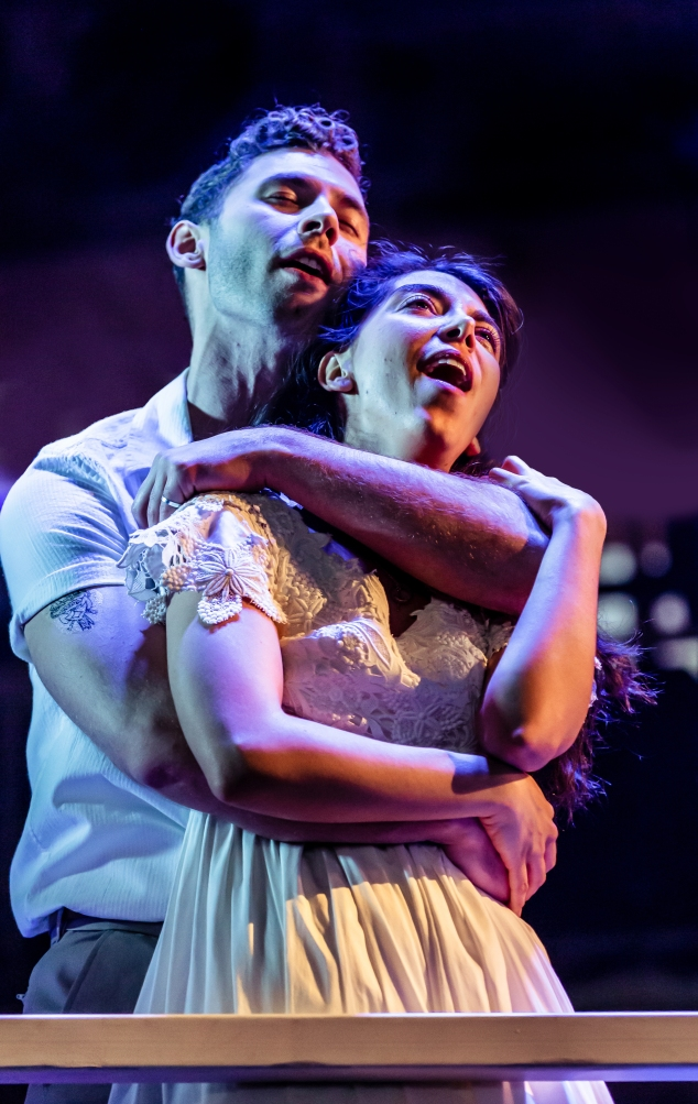 07RET WestSideStory - Andy Coxon (Tony) & Gabriela Garcia (Maria) - image Richard Davenport of The Other Richard