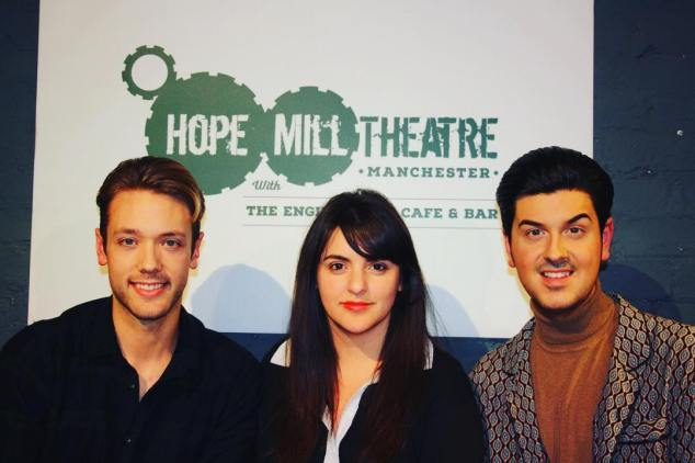 William Whelton, Katy Lipson and Joseph Houston. Founders of Hope Aria Academy in Manchester