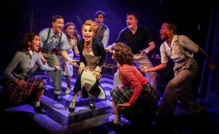 Tracie Bennett (Mame) and Cast in Mame credit Pamela Raith