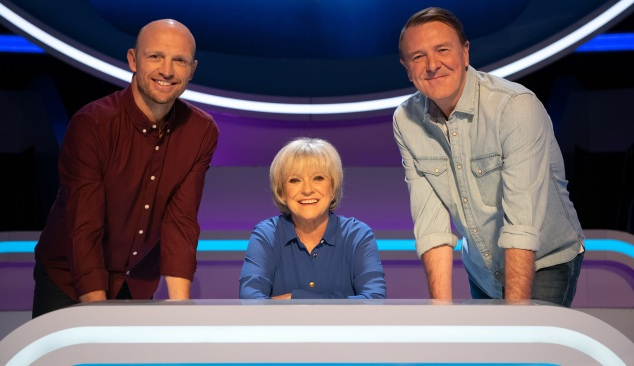 Matt Dawson, Sue Barker and Phil Tufnell