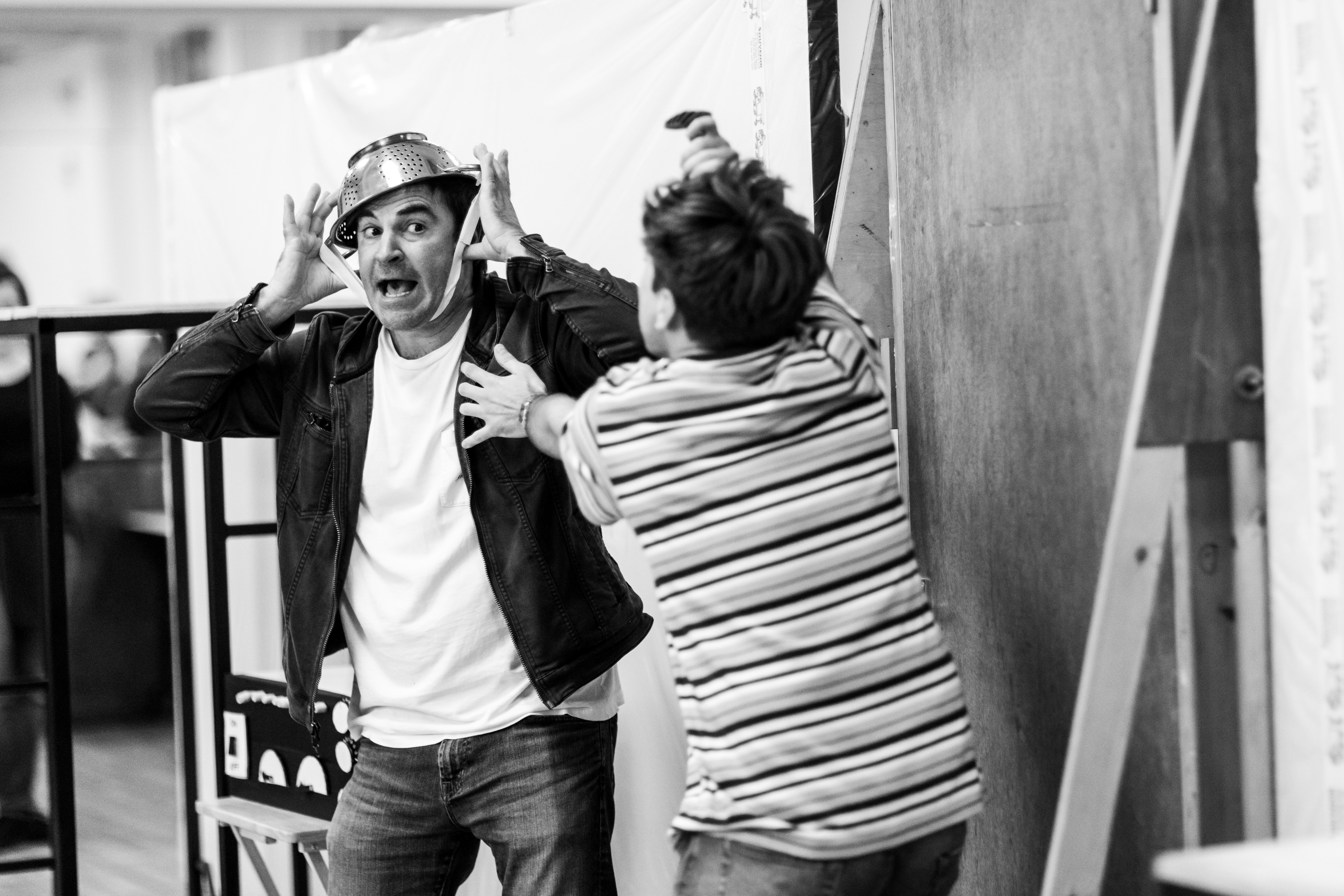Roger Bart in rehearsals for Back to the Future The Musical, credit Sean Ebsworth Barnes (2)